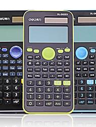 deli® d82es calculatrice scientifique calcul / statistiques / fonctions /
