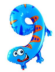 Balões alumínio Para Meninos / Para Meninas 2 a 4 Anos / 5 a 7 Anos / 8 a 13 Anos