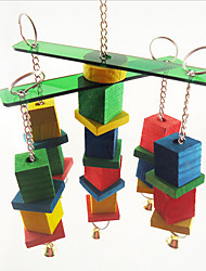 Bird Toys Plastic Wood