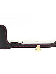 Dengpin PU Leather Half Camera Case Bag Cover Base for Nikon D500 (Assorted Colors)