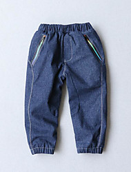 Boy Casual/Daily Solid Pants-Spandex Cotton  Polyester Jacquard Winter