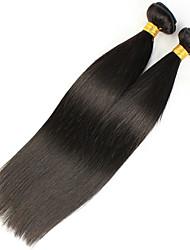 1 Pieza Recto Cabello humano teje Cabello Brasileño 100 g Extensiones de cabello humano