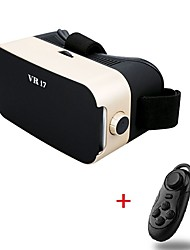 VR 3D Glasse 3.0 Virtual Reality Glasses Headset Upgraded version of for 4.5-6 Inch Smartphone with Gamepad