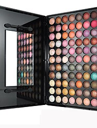 88 Lidschattenpalette Trocken Lidschatten-Palette Kompaktpuder Normal Alltag Make-up