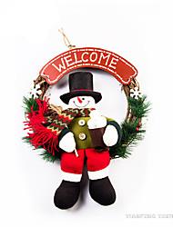 Jouets Décorations de Noël Costumes de père noël / Bonhomme de neige Dessin Animé / Adorable / Haute qualité / Mode Déco de Célébrations