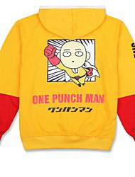 Ternos de Cosplay Inspirado por Um Homem perfurador Snow Miku Anime Acessórios de Cosplay Camisa Preto Algodão Unissexo