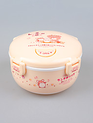 Food Grade Cute Kids Lunch Box Lunch Bowl 0.85L