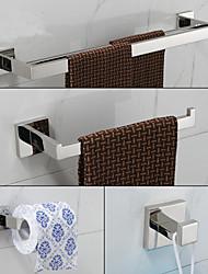 Набор аксессуаров для ванной , Современный Зеркальное Крепление на стену