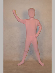 Festival/Holiday Costumes Pink Solid Zentai Kid Lycra Fully Covered
