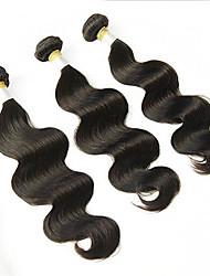 Tissages de cheveux humains Cheveux Péruviens Ondulation naturelle 3 Pièces tissages de cheveux