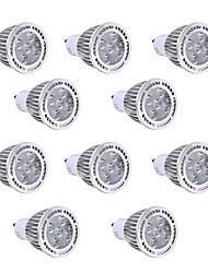 5W GU10 Faretti LED 5 SMD 3030 450-500 lm Bianco caldo / Luce fredda Decorativo AC 85-265 V 10 pezzi