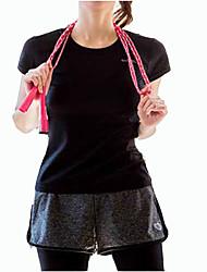 Corrida Camiseta Mulheres Manga Curta Respirável / Secagem Rápida Náilon Chinês Ciclismo/Moto Wear Sports Stretchy DelgadoInterior /