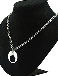 Fashion Flower Hollow 316L Stainless Steel Pendant Necklace