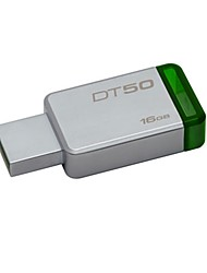 Kingston digital 16gb usb 3.1 dados viajante 50, 30mb / s ler, 5mb / s escrever (dt50 / 16gb)