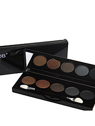 Lidschattenpalette Trocken Lidschatten-Palette Puder NormalAlltag Make-up / Halloween Make-up / Party Make-up / Feen Makeup / Cateye