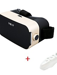 Virtual Reality Glasses Headset Upgraded version of for 4.5-6 Inch Smartphone with  Bluetooth Remote Controller