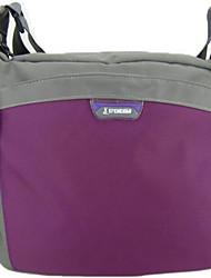 18 L Umhängetasche Gurttaschen & Messenger Bags Legere Sport Wasserdicht Stoßfest Atmungsaktiv Schwarz Rote Rosa Purpur Nylon