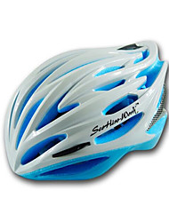 Unisex Mountain  Road  Sports Bike helmet 25 Vents Cycling Cycling  Mountain Cycling  Road Cycling L58-62CM PC  EPSGreen