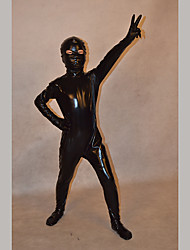 Festival/Holiday Costumes Black Solid Zentai Kid Rubber Shine