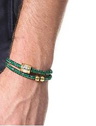 MMen Jewelry Vintage Casual Fashion Nylon Lifeline Titanium Steel Bracelet Pulseira Masculina Men Bracelet