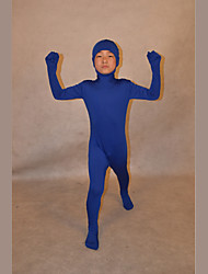 Festival/Holiday Costumes Blue Solid Ninja Zentai Kid Lycra