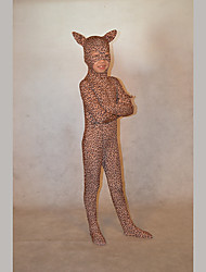 Festival/Holiday Costumes Brown Print Zentai Kid Lycra