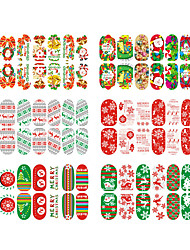 6pcs Nail Art Sticker  3D Nail Stickers Makeup Cosmetic Nail Art Design