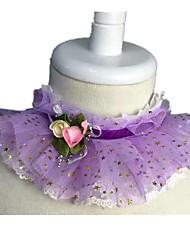 Dog Bandanas & Hats Purple Dog Clothes Winter Stars Casual/Daily