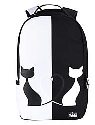 Unisex - Rucksack / Laptop Tasche / Schultasche / Reisetasche - Nylon - 15 Zoll Laptop - Mehrfarbig