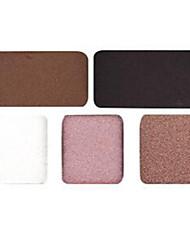 4 Lidschattenpalette Trocken Lidschatten-Palette Puder Normal Smokey Makeup