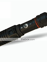 Lights Diving Flashlights/Torch LED 1200LM Lumens 1 Mode Cree XM-L2 18650 Adjustable Focus / Waterproof / Compact SizeDiving/Boating /