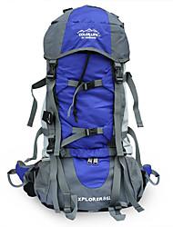 60-70 L Rucksack / Tourenrucksäcke/Rucksack / Travel Organizer Camping & Wandern / Reisen Draußen MultifunktionsSchwarz / Blau /