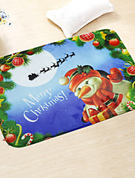 1PC Random Household Articles Have a Festive Mood Christmas Balneal Bedroom Non-Slip Mat