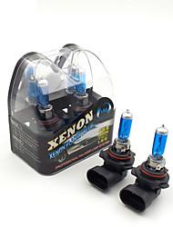 HM® xenon plasma 9012 ampoules blanc lampe 12v 55w halogène de phare (une paire)