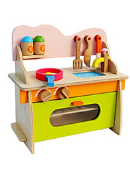 Pretend Play Educational Toy Furniture Wood Girls'