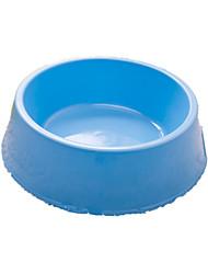Gato Tigelas e Bebedouros Animais de Estimação Tigelas e alimentação de animais Portátil Azul Plástico