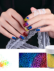 1roll 4cm*120cm Colorful Nail Art Transfer Foil Paper Sticker DIY Nail Decorations