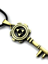 Plus d'accessoires Inspiré par The Legend of Zelda Cosplay Anime Accessoires de Cosplay Colliers Doré Alliage