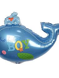Balões Decoração Para Festas Animal alumínio Azul Para Meninos / Para Meninas 5 a 7 Anos