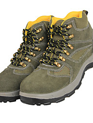 Unisex Athletic Shoes Fall Winter Other Suede Outdoor Athletic Green Hiking