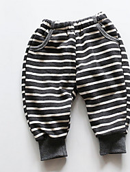 Girl Casual/Daily Striped Shorts Winter