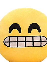 7 Inch Emoji Smiley Emoticon Yellow Round Cushion Pillow Stuffed Plush Soft Toy