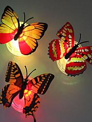 3 части бабочки ночника (случайный цвет)