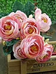Fleurs de mariage Forme libre Lis Bouquets Le Party / soirée Elasthanne 50cm
