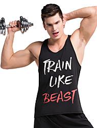 Sports®Yoga Tank Breathable / Comfortable Inelastic Sports Wear Yoga / Pilates / Exercise & Fitness Men's
