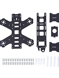 FPV Carbon Fiber Mini 130mm Wheelbase Chassis Rack Aircraft Frame for QAV130 4 Axles