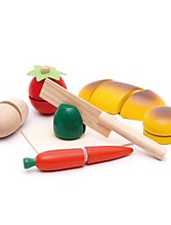 Brinquedos de Faz de Conta / Brinquedos Magnéticos / Brinquedo Educativo Hobbies de Lazer Brinquedos Novidades Madeira Arco-ÍrisPara