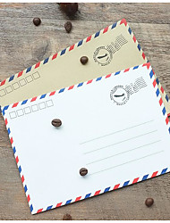 Western Style Restoring Ancient Ways Airmail Envelopes