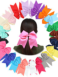 21Pcs/set Baby Girls Hair Bows Band Todder Hair Accessories Infant Hairband