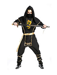 Costumes de Cosplay Pirate Fête / Célébration Déguisement Halloween Noir Couleur PleineHaut / Pantalon / Ceinture / Chapeau / Plus